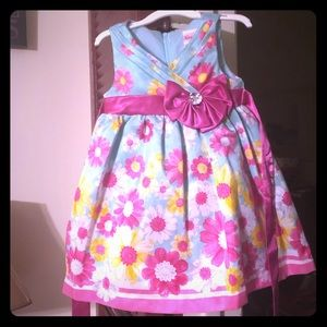 Nanette - Beautiful Toddler Dress - Size 12 months